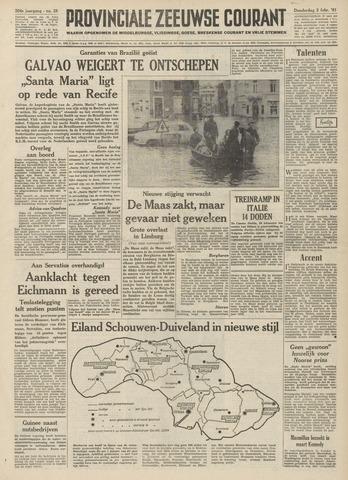 Provinciale Zeeuwse Courant 1961-02-02