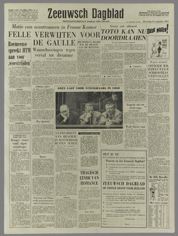 Zeeuwsch Dagblad 1961-09-13