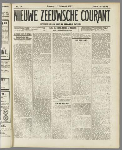 Nieuwe Zeeuwsche Courant 1907-02-12