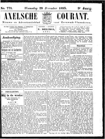 Axelsche Courant 1893-12-20