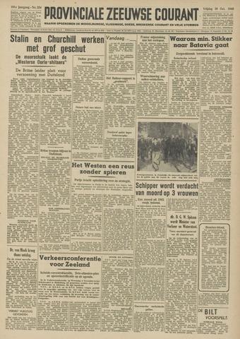 Provinciale Zeeuwse Courant 1948-10-29