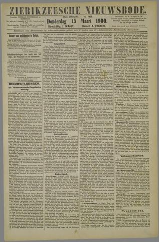 Zierikzeesche Nieuwsbode 1900-03-15