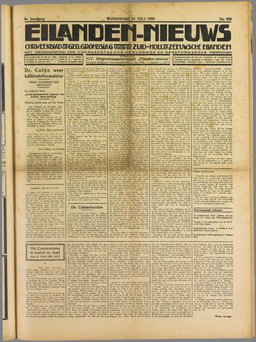 Eilanden-nieuws. Christelijk streekblad op gereformeerde grondslag 1935-07-31
