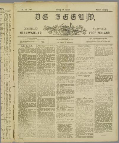 De Zeeuw. Christelijk-historisch nieuwsblad voor Zeeland 1895-01-19