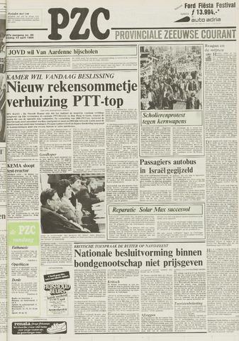 Provinciale Zeeuwse Courant 1984-04-13