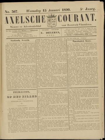 Axelsche Courant 1890-01-15