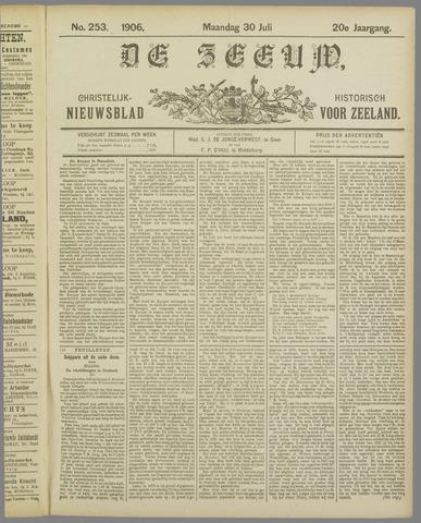 De Zeeuw. Christelijk-historisch nieuwsblad voor Zeeland 1906-07-30