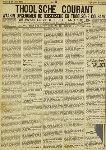 Ierseksche en Thoolsche Courant 1933-05-26