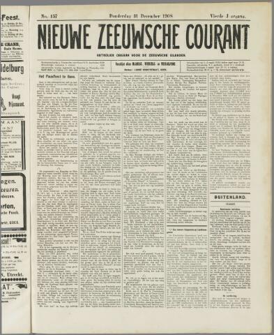 Nieuwe Zeeuwsche Courant 1908-12-31