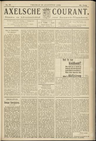 Axelsche Courant 1926-08-13