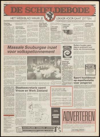 Scheldebode 1985-08-29