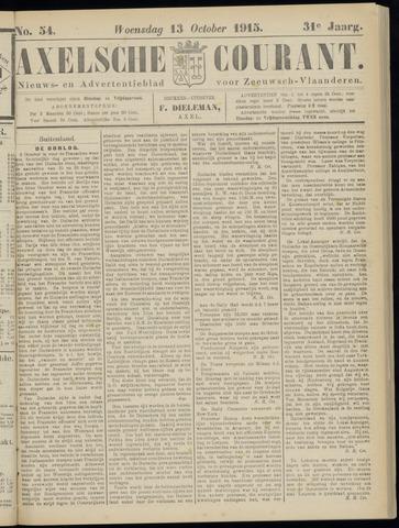 Axelsche Courant 1915-10-13