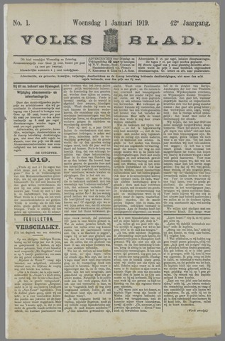 Volksblad 1919