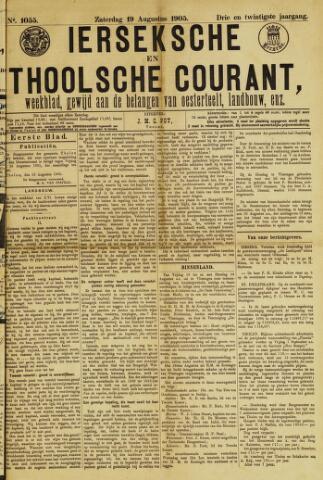 Ierseksche en Thoolsche Courant 1905-08-19