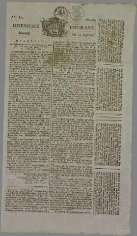 Goessche Courant 1820-08-14