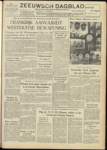 Zeeuwsch Dagblad 1954-12-31