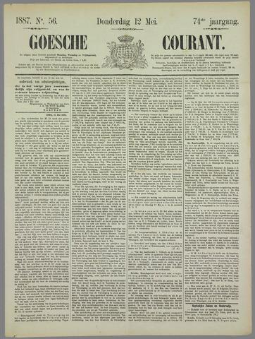 Goessche Courant 1887-05-12