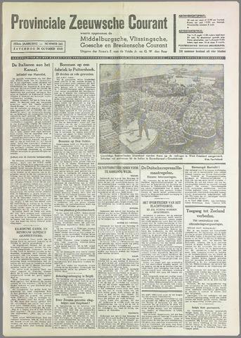 Provinciale Zeeuwse Courant 1940-10-26