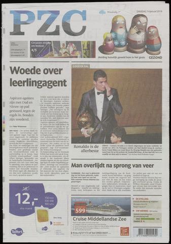Provinciale Zeeuwse Courant 2014-01-14