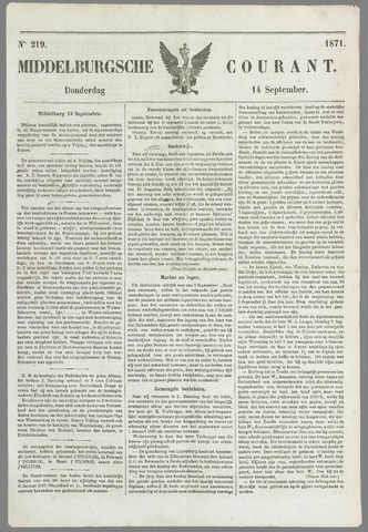 Middelburgsche Courant 1871-09-14