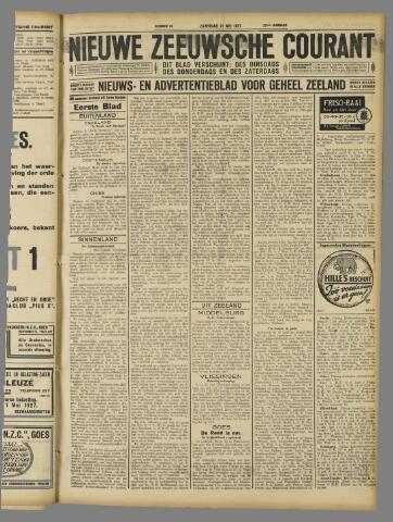 Nieuwe Zeeuwsche Courant 1927-05-21