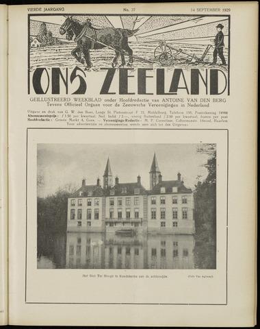 Ons Zeeland / Zeeuwsche editie 1929-09-14