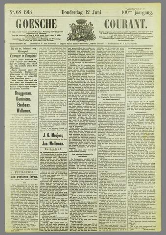 Goessche Courant 1913-06-12