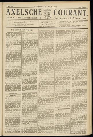 Axelsche Courant 1934-07-17