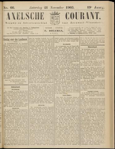Axelsche Courant 1903-11-21