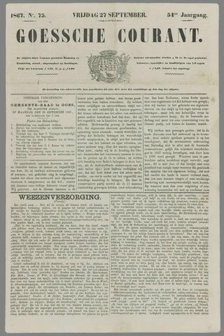 Goessche Courant 1867-09-27