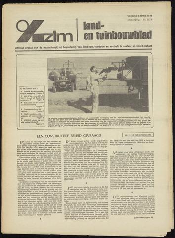 Zeeuwsch landbouwblad ... ZLM land- en tuinbouwblad 1970-04-01