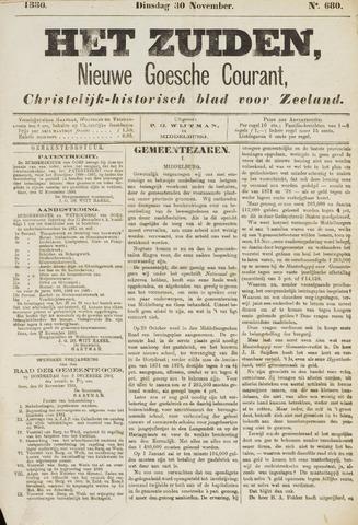 Het Zuiden, Christelijk-historisch blad 1880-11-30