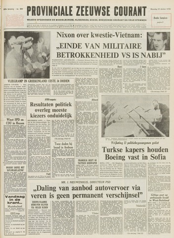 Provinciale Zeeuwse Courant 1972-10-23