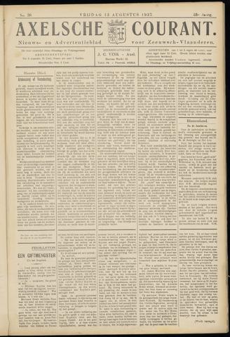 Axelsche Courant 1937-08-13