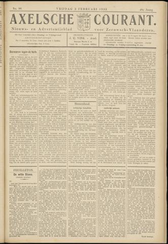 Axelsche Courant 1933-02-03