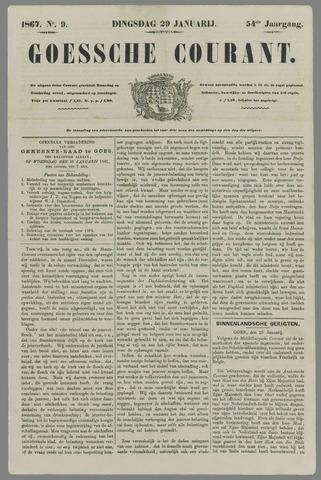 Goessche Courant 1867-01-29
