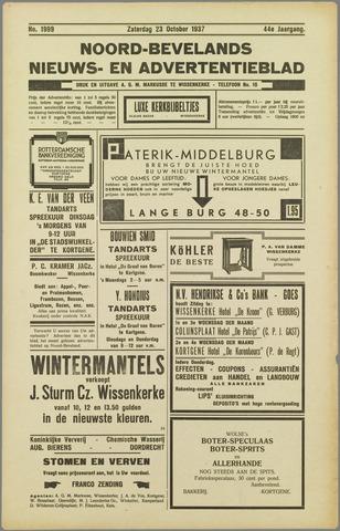 Noord-Bevelands Nieuws- en advertentieblad 1937-10-23