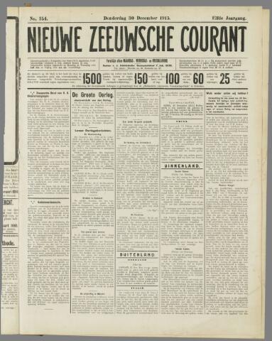 Nieuwe Zeeuwsche Courant 1915-12-30