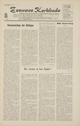 Zeeuwsche kerkbode, weekblad gewijd aan de belangen der gereformeerde kerken/ Zeeuwsch kerkblad 1965-05-21