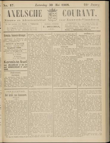 Axelsche Courant 1908-05-30