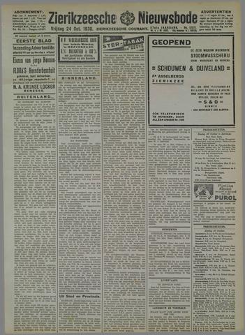 Zierikzeesche Nieuwsbode 1930-10-24