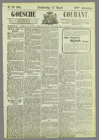 Goessche Courant 1913-03-27