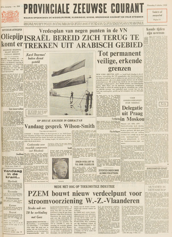 Provinciale Zeeuwse Courant 1968-10-09
