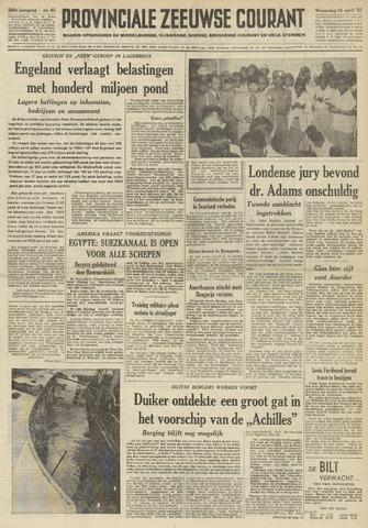 Provinciale Zeeuwse Courant 1957-04-10