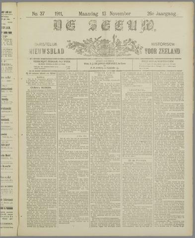De Zeeuw. Christelijk-historisch nieuwsblad voor Zeeland 1911-11-13