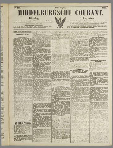 Middelburgsche Courant 1905-08-01