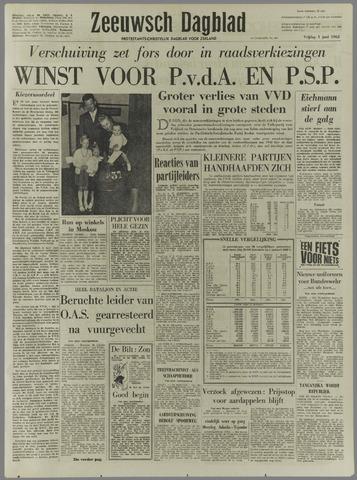 Zeeuwsch Dagblad 1962-06-01