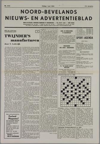 Noord-Bevelands Nieuws- en advertentieblad 1984-06-01