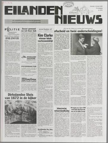 Eilanden-nieuws. Christelijk streekblad op gereformeerde grondslag 2000-02-01