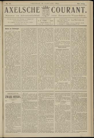 Axelsche Courant 1925-01-19